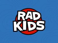 Rad Kids | Logo & Branding | Rebound