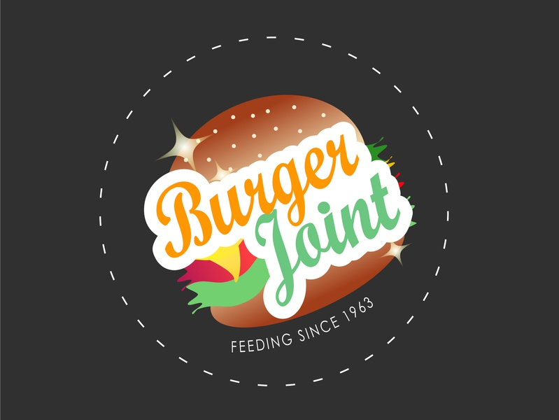 Bugerjoint ivoridesign 30dayslogochallenge food and drink logodesign