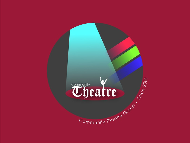 Theatre Community theater design ivoridesign vector illustration logodesign 30dayslogochallenge