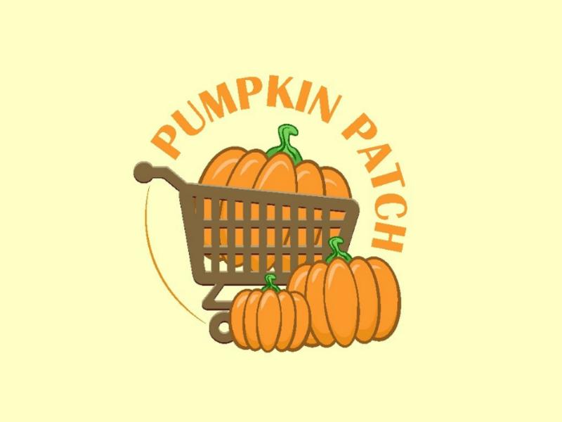 Pumpkin patch design ivori logo design pumpkins