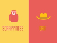 Scrappiness & grit