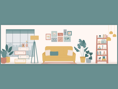 Home Decor Illustration