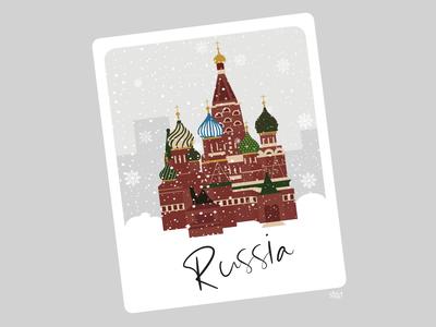 Travel Polaroid: Russia