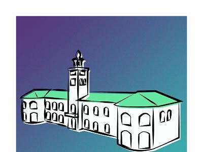 Rasht Municipality illustrator rashtmunicipality design illustration graphic design