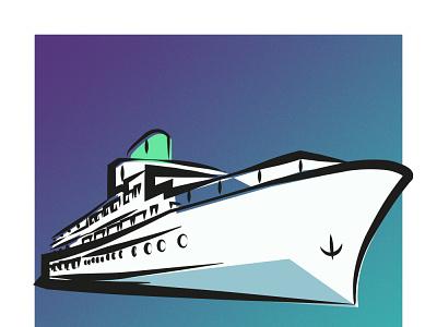 Mirzakouchakkhan Cruise sheep mirzakouchakkhan cruise design vector illustrator illustration graphic design