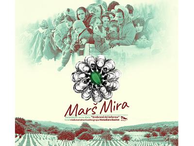Maršmira musicvideo music cover poster graphic design