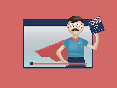 Hero image creative design vector design characterdesign character 2d animation animation infographic infostarters illustration