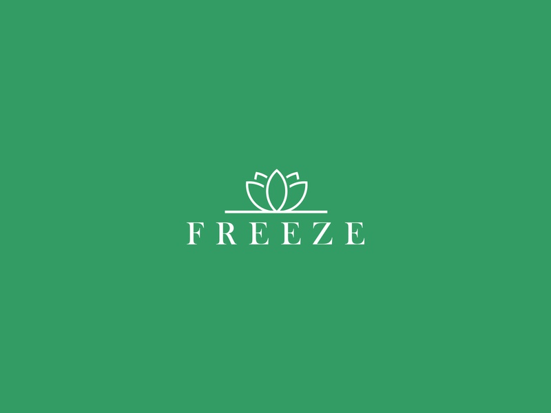 Freeze logo design