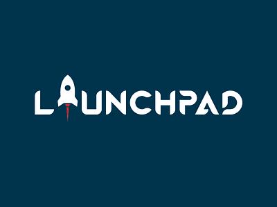 Launchpad logo rocket illustration illustrator logo design logo
