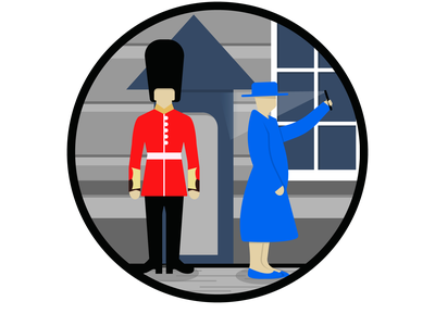 Queen's Guard illustration