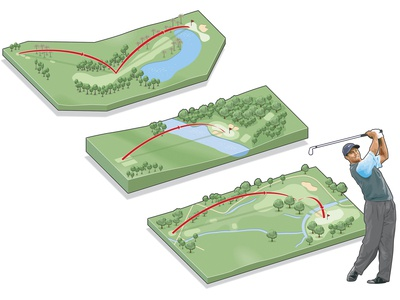 Golf Holes graphic