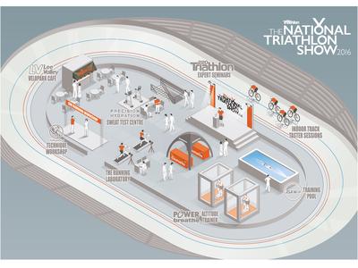 National Triathlon Show Graphic