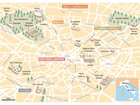 Milan city guide Map