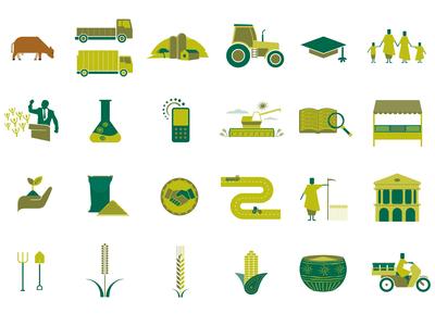 Agra Icons Set