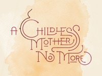 A Childless Mother No More