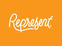 Represent.