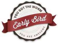 Melodious.me: Earlybird badge