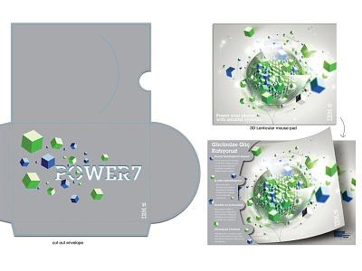 IBM POWER7, Lenticular Mouse Pad mousepad idea imagination packaging lenticular