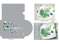 IBM POWER7, Lenticular Mouse Pad