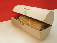 Cryptex box, Invitation packaging design