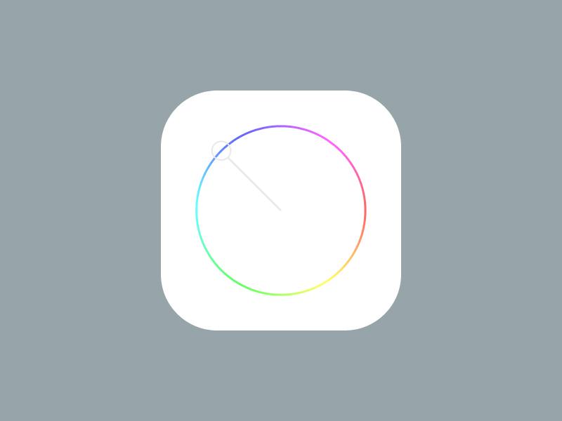 Colour Picker colour picker ios 7 apple app icon rainbow