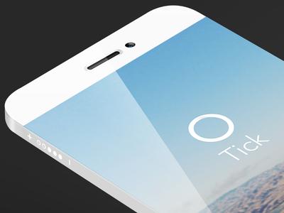 Signup/Login | Tick - An iPhone App