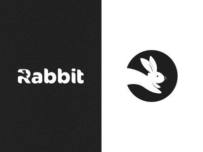 Minimalist Rabbit Logo Design clean branding creative logoinspiration logo concept logodesign logo mark logotype logoidea minimalist logo minimal rabbir logo