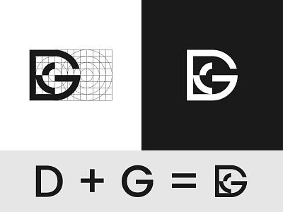 D + G Letter Combination Logo logostyle logoinspiration logoconcept logoidea logotype logo mark simple logo minimalist logo combination logo letter logo