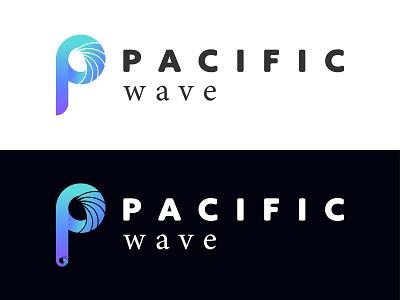 Pacific Wave Logo logo design branding logostyle logomark logotype logoinspiration logoconcept logoidea minimalist logo brand identity logodesign logo
