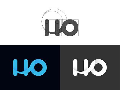 H + O Letter Combination Logo design clean branding logodesign creative logo logo mark logo inspiration logo concept logo idea unique logo modern logo letter combination logo letter logo