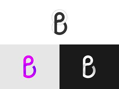 P + B Letter Logo logo design brand identity branding logo shop logo inspiration logo concept logo ideas modern logo creative logo simple design minimalistic minimal logo logo mark pb letter logo pb logo