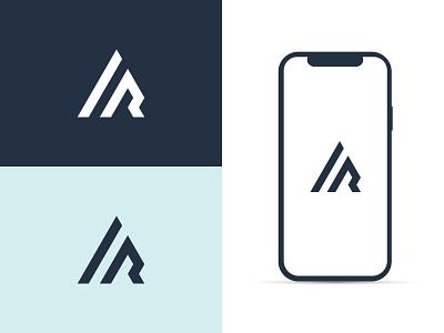 A + R Logo Concept logo icon moden logo logo inspiration logo idea logo concept letter combination lettermark letter logo monogram logo monogram simple logo minimal logo ar logo