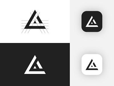 L + A Letter Logo design vector logo creative minimalist logo minimalist clean modern logo logo icon simbol logo inspiration logo idea logo mark logodesign logotype lettering