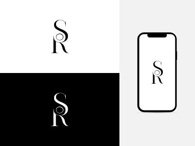 S + R Letter Logo clean design branding amazing flat logo unique logo logo inspiration logo idea logo designer creative logo modern logo clean logo minimal simple logo sr logo minimalist logo