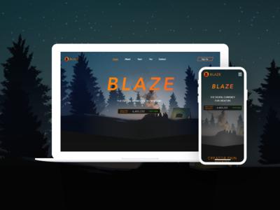 Blaze Ui Web and Mobile version