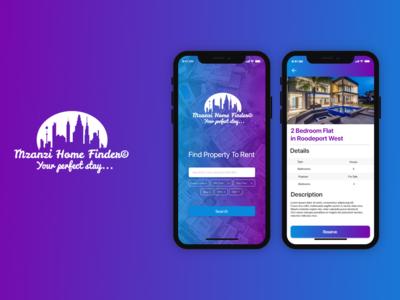 Mzanzi Home Finder - Real Estate App Ui