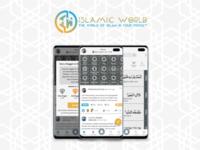 IslamicWorld Mobile App Ui Design