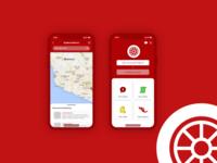 Auto Insurance App Design