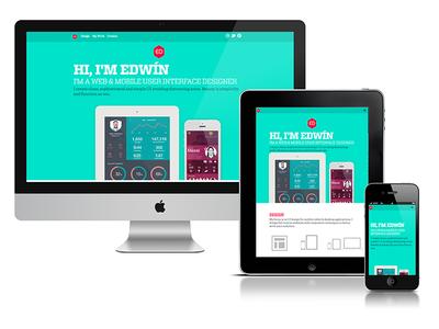 Redesign Website - UI designer - Edwin Eddie Diaz
