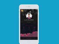 Barcelona app luis suarez hr
