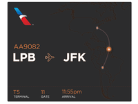Flight Airline Info UI #30dayUI - Day 6
