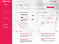 Doctor Health UI Dashboard