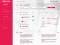 Doctor Health UI Dashboard
