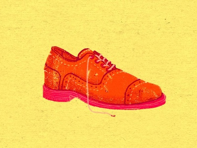 Daily Doodle #33 illustration doodle daily converse chucks oxford shoes footwear art