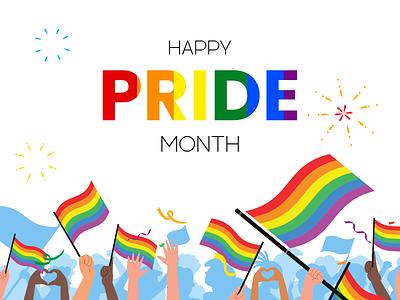 Pride 2021 pridemonth pride pride2021 illustrator illustration vector design