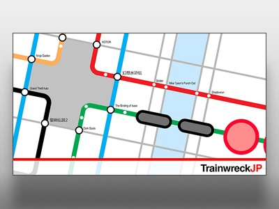 TrainwreckJP - Twitch Design