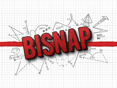 Bisnap Logo bisnap twitch diagram logo branding squiggles doodles