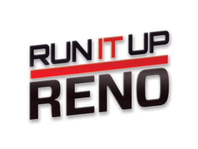 Run It Up Reno broadcasting sports logo poker