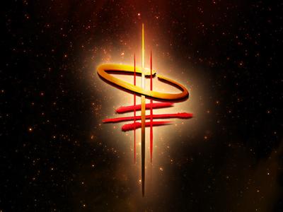 VAST - The Brightest Eye geek  sundry sci-fi vast alien space logo