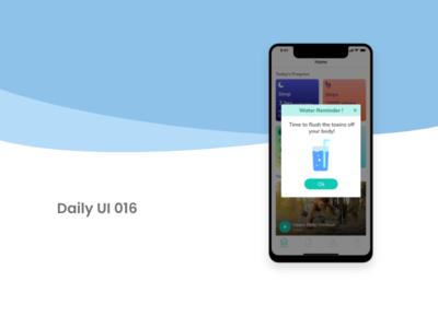 Daily UI 016